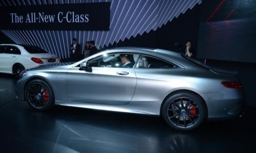 В Нью-Йорке показали Mercedes S63 AMG Coupe
