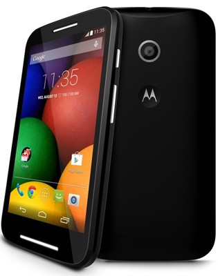 Представлен смартфон Motorola Moto E стоимостью в $129