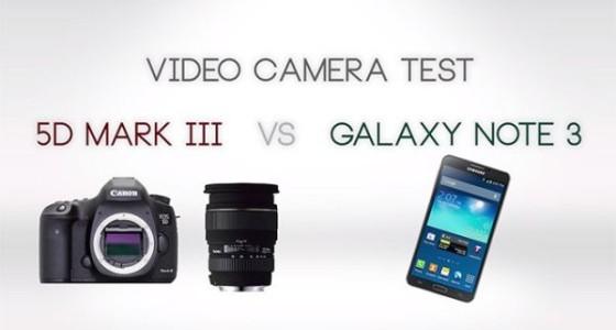 Galaxy Note 3 против Canon 5D Mark III: кто лучше снимает видео