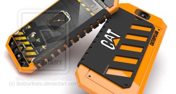 Концепт смартфона Caterpillar для строителей