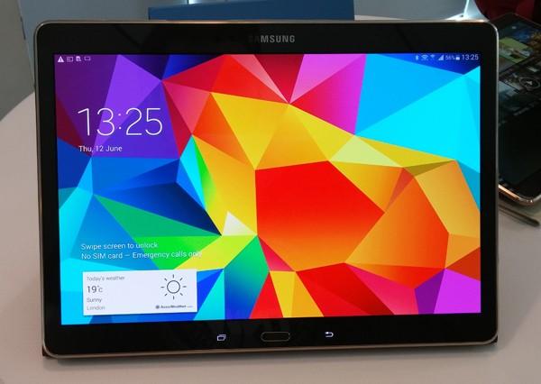 Samsung Galaxy Tab S: тонкий планшет с потрясающим экраном