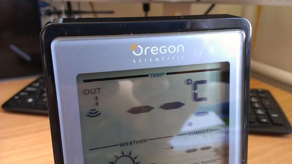 Oregon Scientific BAR218HG