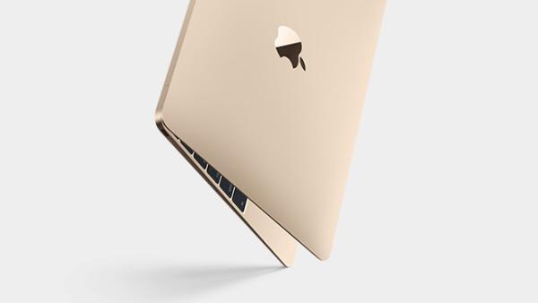 """""""золотой"""" MacBook"""