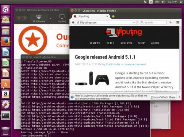 Linux Ubuntu 15.04