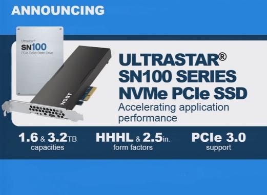 HGST Ultrastar SN100