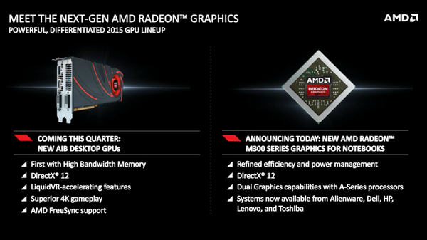 AMD Radeon M300