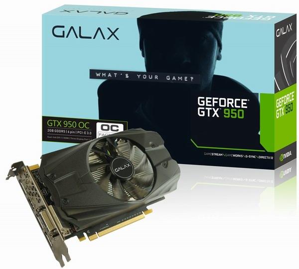 GALAX GeForce GTX 950