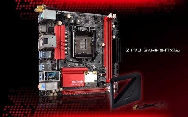 ASRock Z170 Gaming-ITX/ac