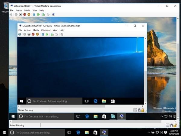 Windows 10 Virtualization