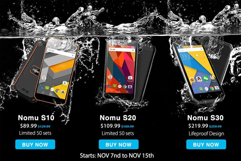 Неубиваемые смартфоны Nomu
