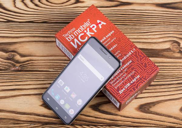 bb-mobile Techno ИСКРА 5.0 3G