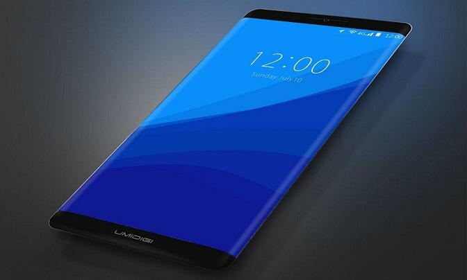 Umidigi borderless smartphone