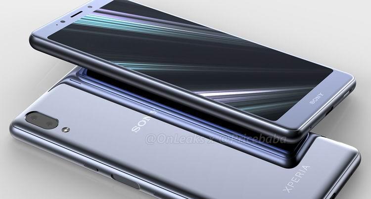 Новые  подробности о дизайне японского смартфона Sony Xperia L3