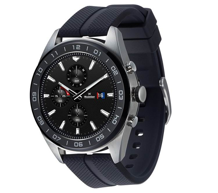 LG представила смарт-часы Watch W7 с механическими стрелками