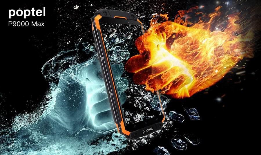 Poptel срезает цены на усиленные смартфоны P8, P10 и P9000 Max