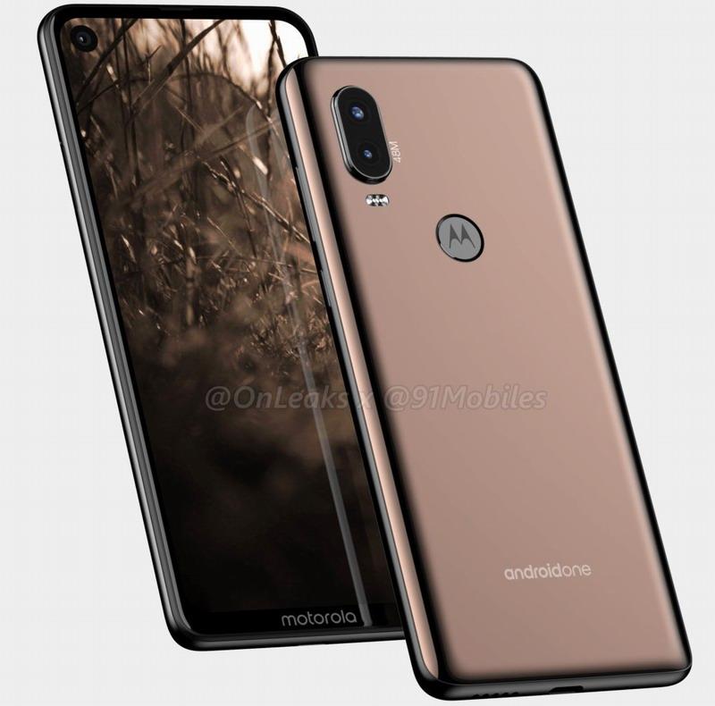 Motorola продырявит экран смартфона P40