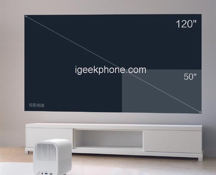 Xiaomi Mi Home Projector Youth Version – крошечный проектор для дома