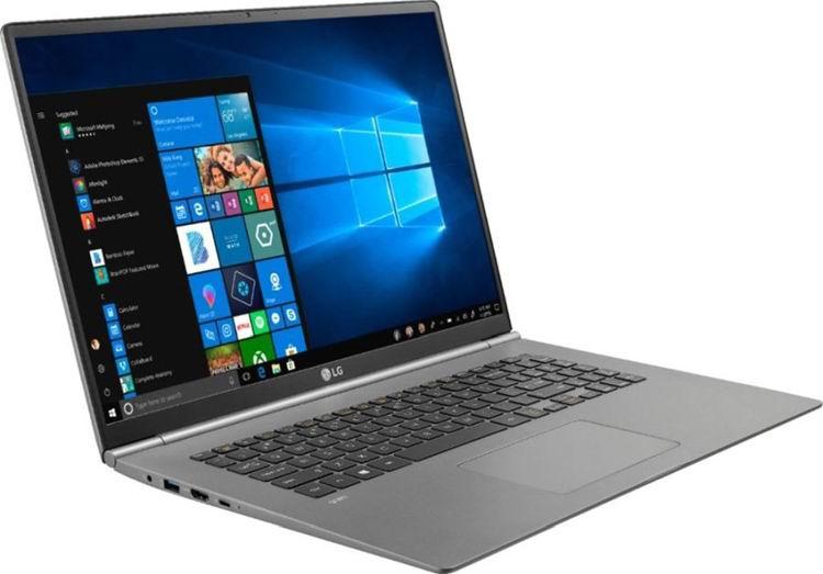 Ноутбук LG Gram 17 весит меньше 1,5 кг и стоит больше $1500