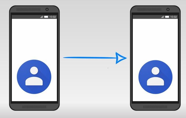 перенести контакты с Android на Android