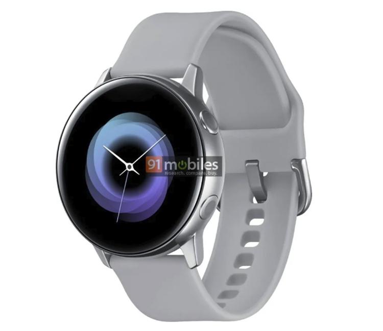 Samsung опубликовала рендер умных часов Galaxy Sport