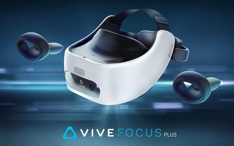 HTC представила автономный ВР-шлем Vive Focus Plus