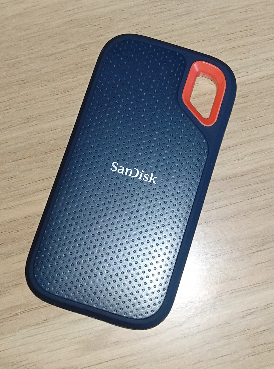 SanDisk Extreme – один из лучших портативных SSD на рынке