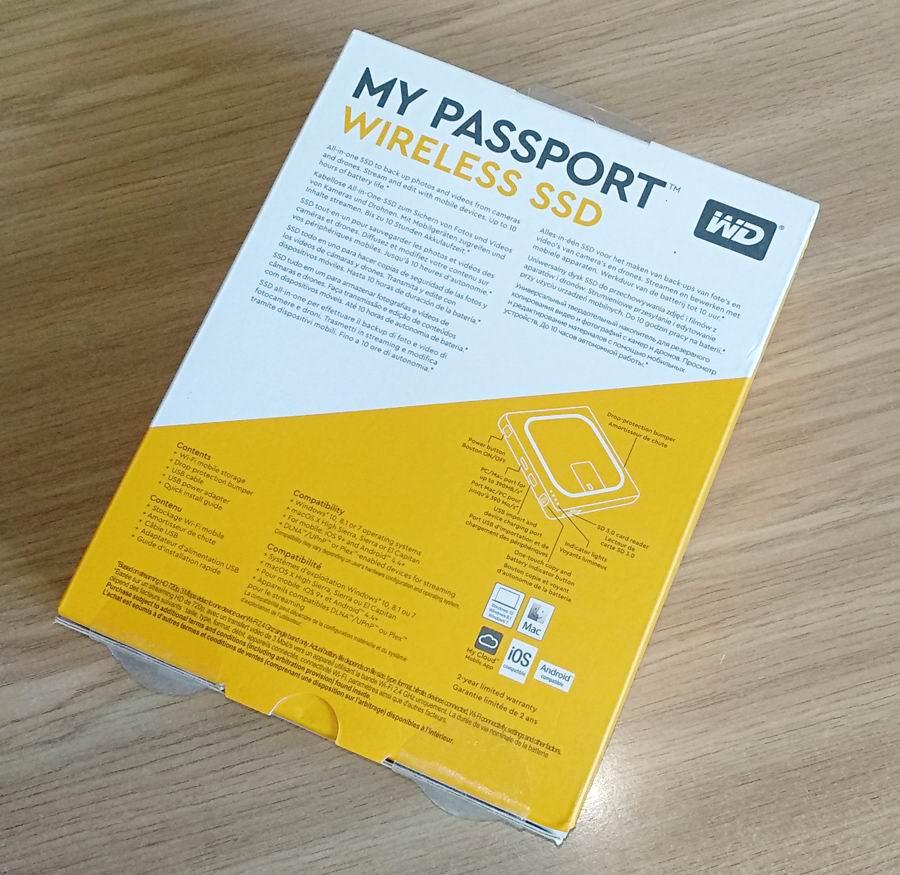 Western Digital My Passport Wireless SSD – один из самых защищенных твердотельных накопителей в мире