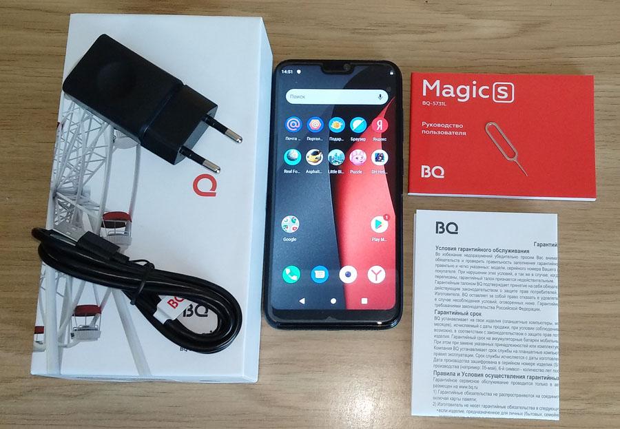 BQ Magic S – стильный и недорогой имиджевый смартфон