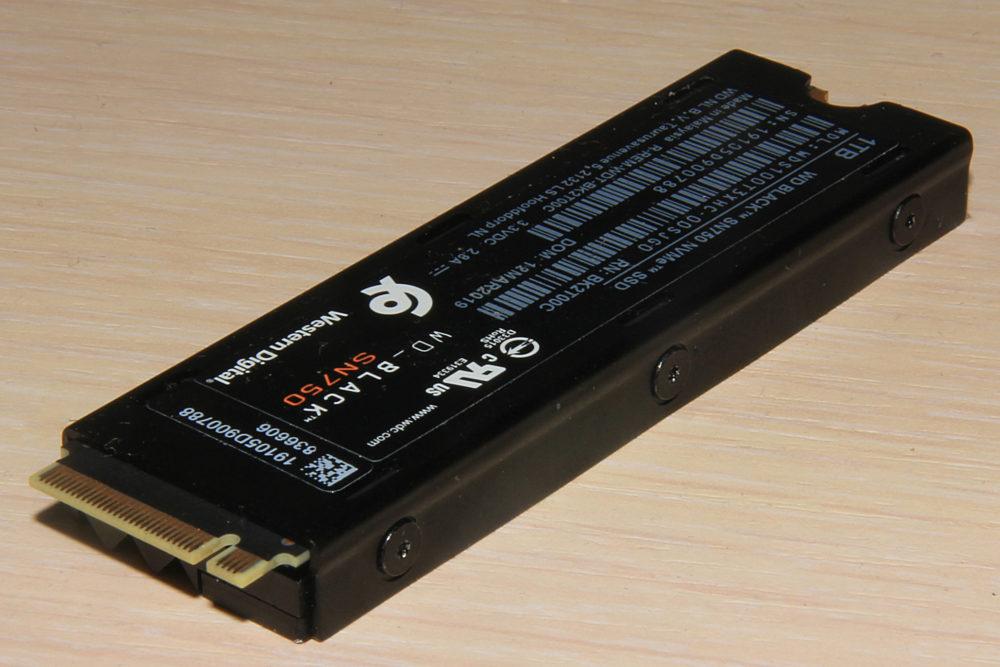 Обзор высокоскоростного NVMe-накопителя WD Black PC SN750